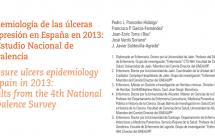Epidemiología de las úlceras por presión en España en 2013: 4.º Estudio Nacional de Prevalencia