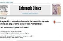 Escala para medir incertidumbre en pacientes en hemodialisis