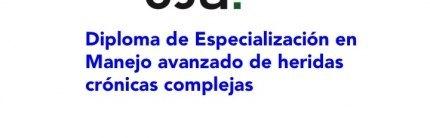 Diploma de Especialización en Manejo avanzado de heridas crónicas complejas en la Universidad de Jaén